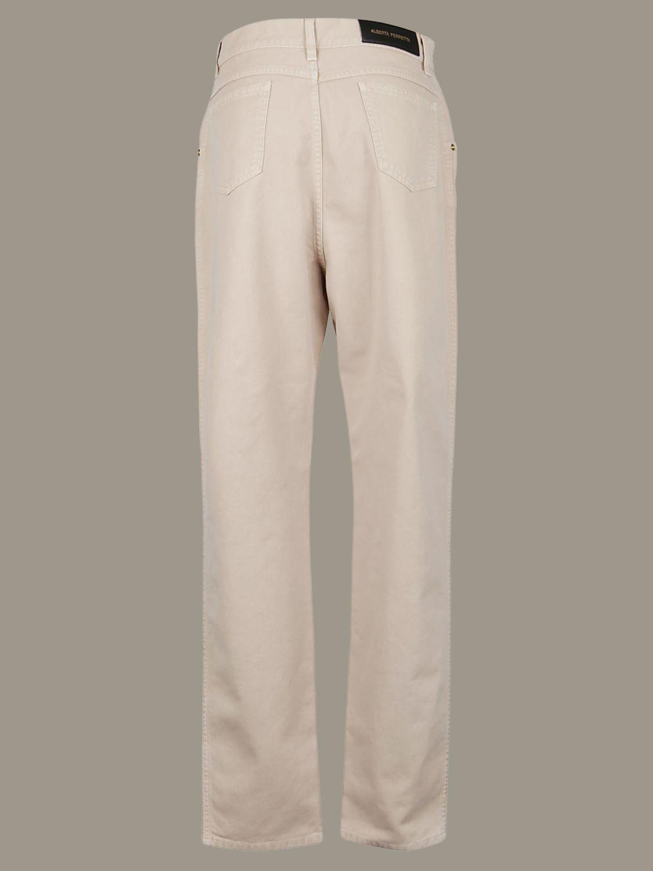 Pantalone Alberta Ferretti: Pantalone Alberta Ferretti ampio a 5 tasche beige 2