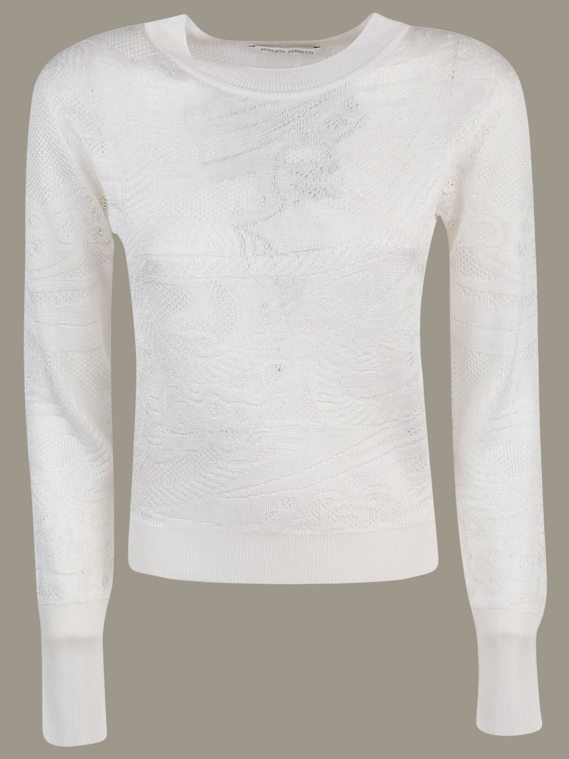 Sweater Alberta Ferretti: Sweater women Alberta Ferretti white 1