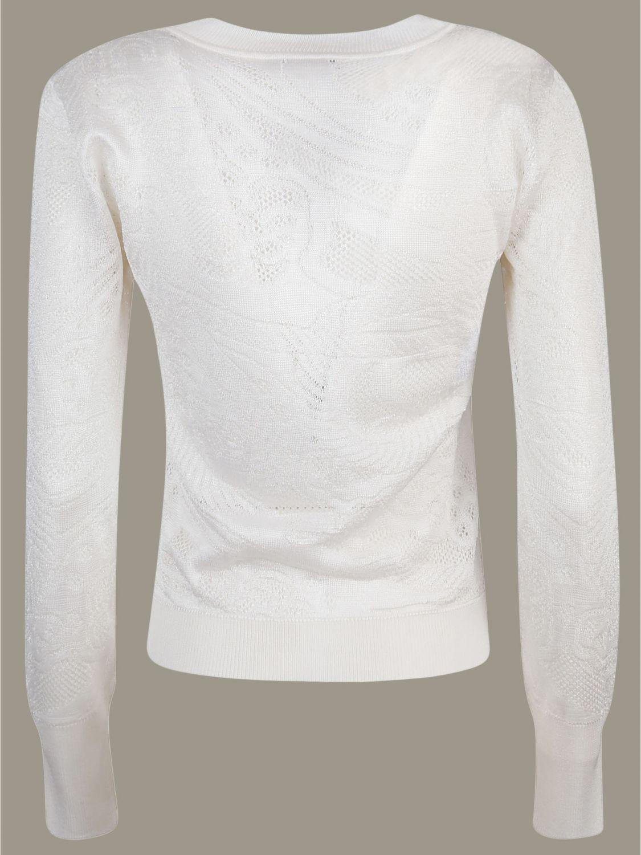 Maglia Alberta Ferretti: Maglia Alberta Ferretti a maniche lunghe bianco 2