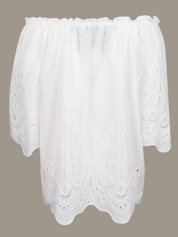 Camisa Alberta Ferretti: Jersey mujer Alberta Ferretti blanco 2
