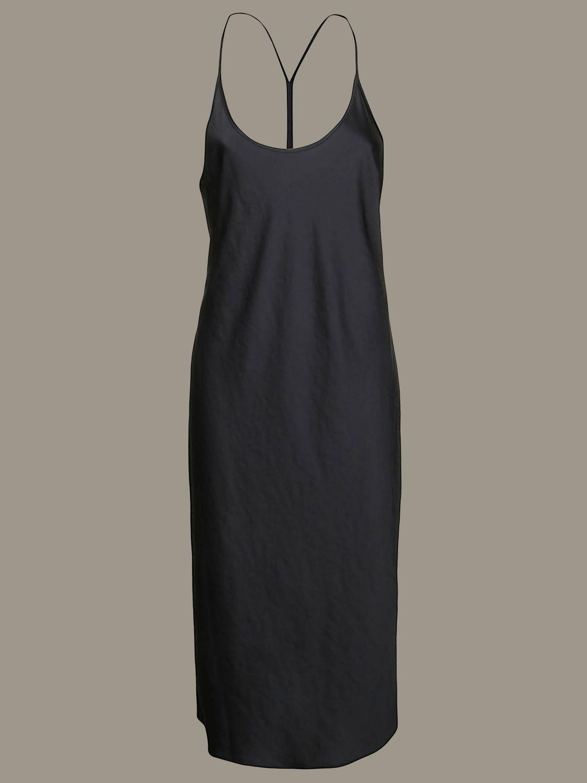 Dress Alexander Wang: Alexander Wang dress with suspenders black 1