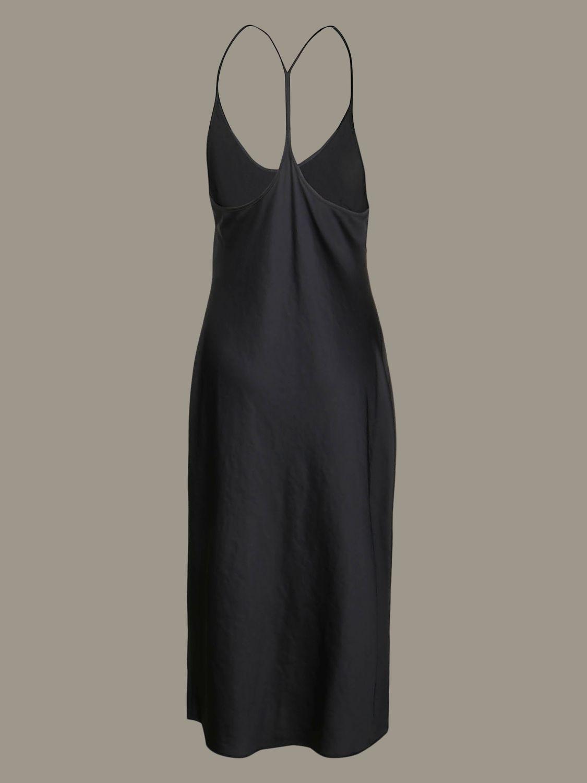 Dress Alexander Wang: Alexander Wang dress with suspenders black 2