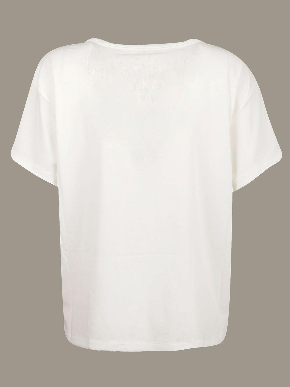 T-shirt Alexander Wang: T-shirt Alexander Wang con tasca a toppa bianco 2