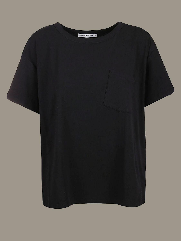 T-Shirt Alexander Wang: T-shirt women Alexander Wang black 1