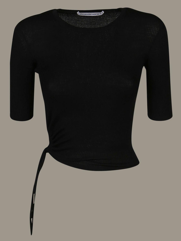 T恤 女士 Alexander Wang 黑色 1