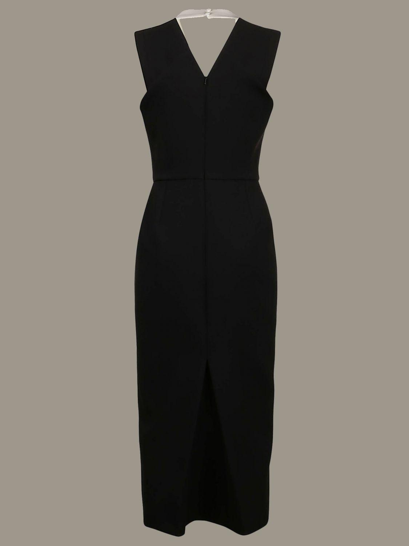 Платье Victoria Victoria Beckham: Платье Женское Victoria Victoria Beckham черный 2