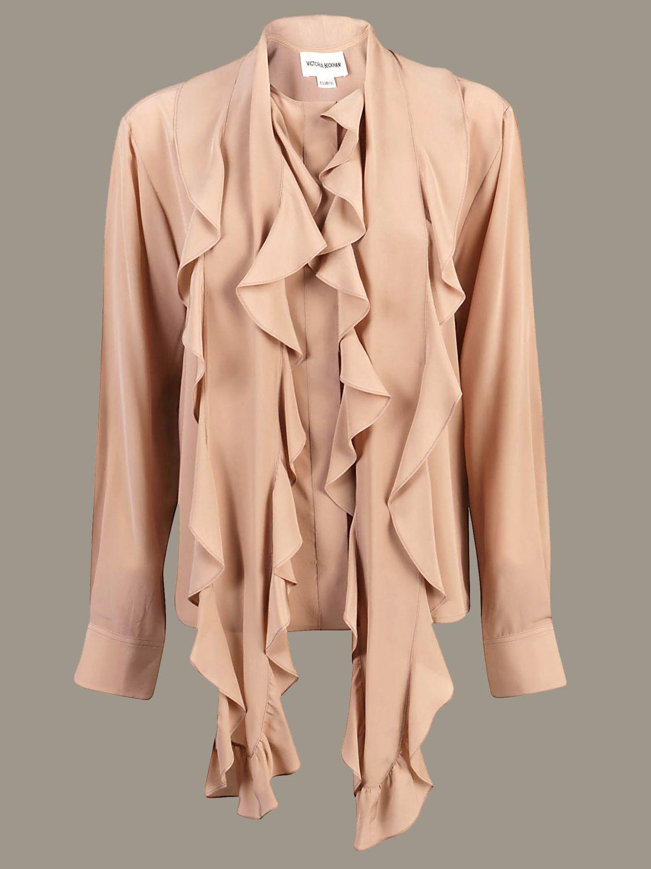 Рубашка Victoria Victoria Beckham: Свитер Женское Victoria Victoria Beckham серый мышиный 1