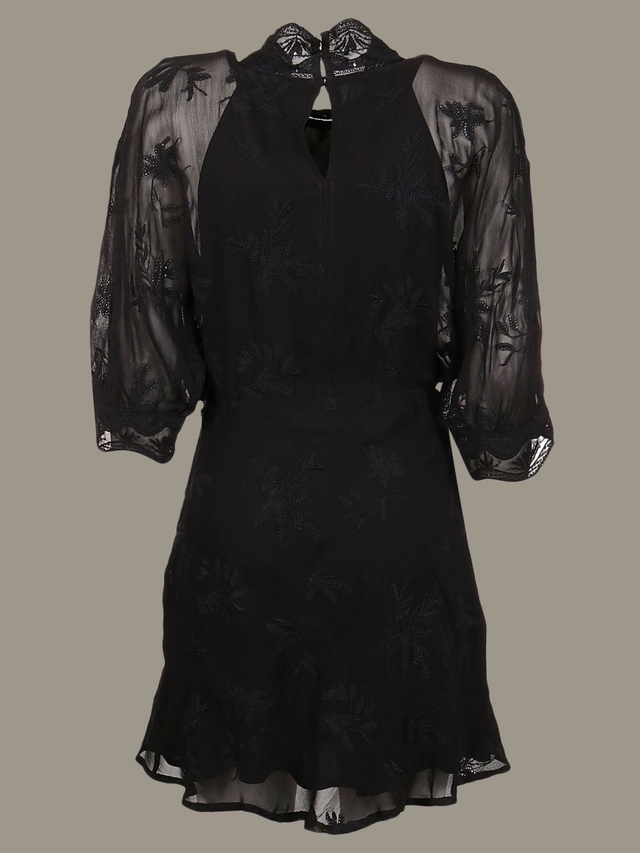 Robe Iro Avec Broderies Robes Iro Femme Noir Robes Iro Wp33leine Giglio Fr