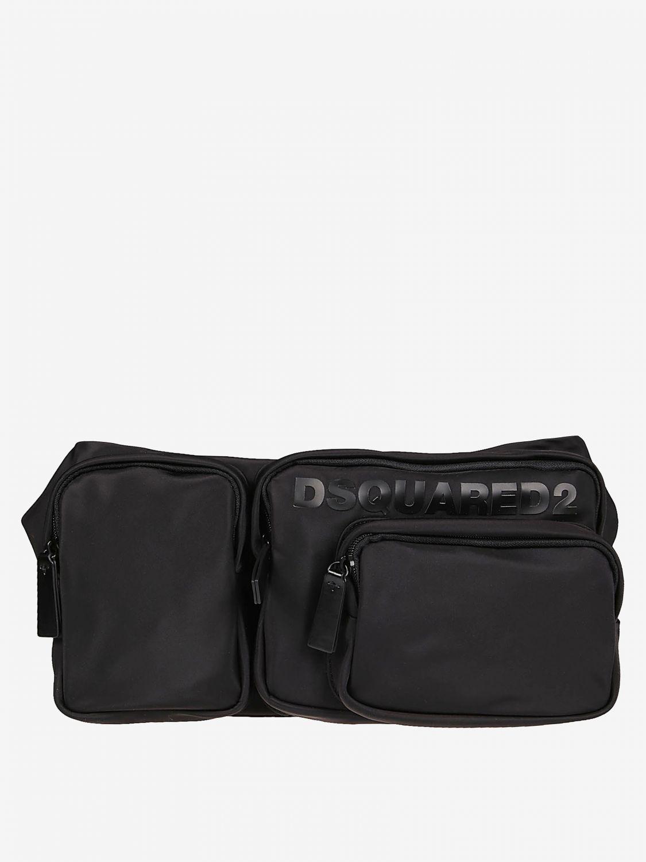 Belt bag Dsquared2: Dsquared2 nylon belt bag with logo black 1