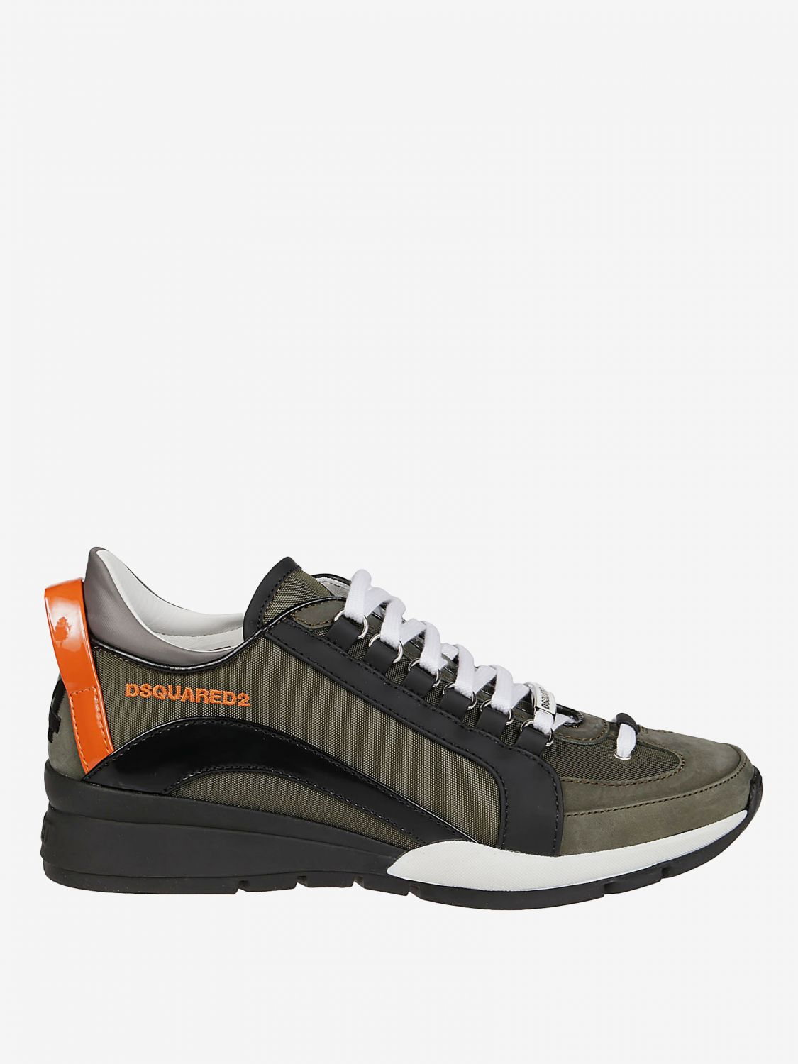Sneakers Dsquared2 en cuir avec micro trous | Baskets