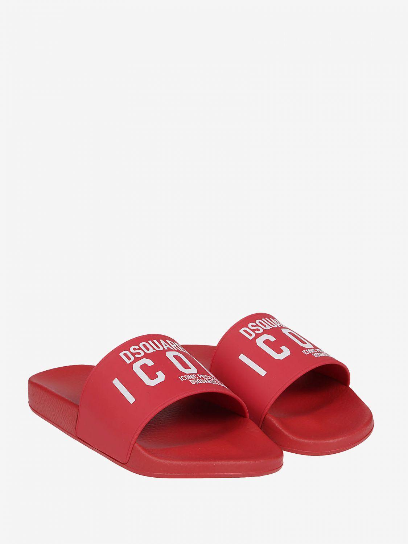 Обувь Мужское Dsquared2 красный 2