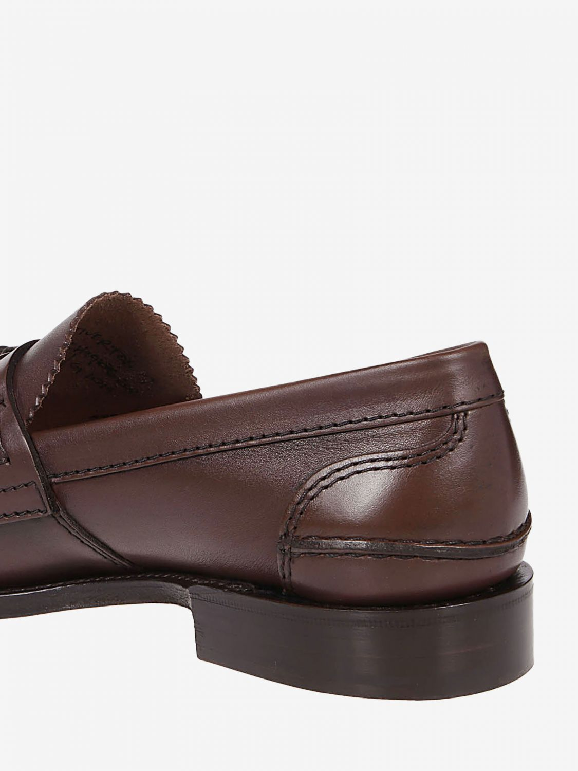 Loafers Church's: Church's moccasin in smooth leather with tassels honey 4