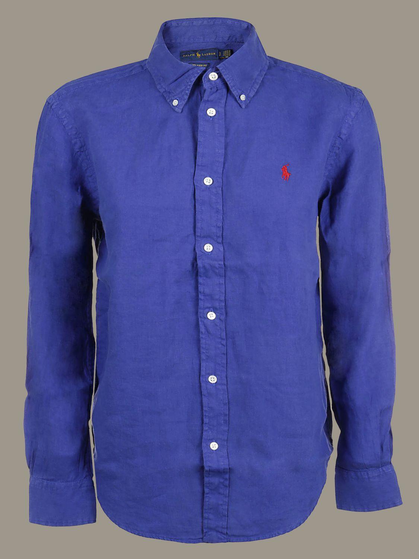 Рубашка Женское Polo Ralph Lauren королевский синий 1