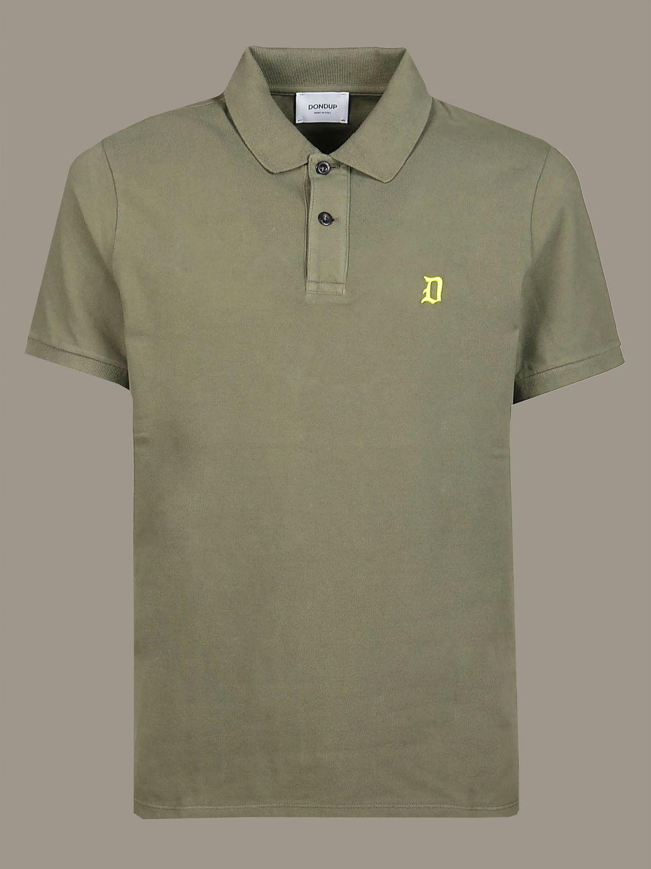 Polo shirt Dondup: Polo shirt men Dondup green 1
