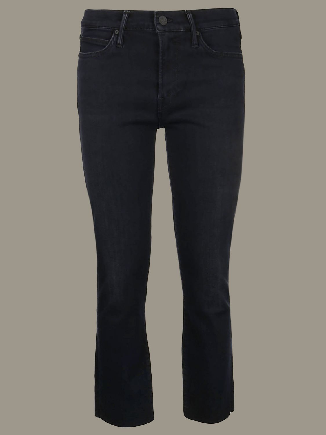 Jeans mujer Mother negro 1