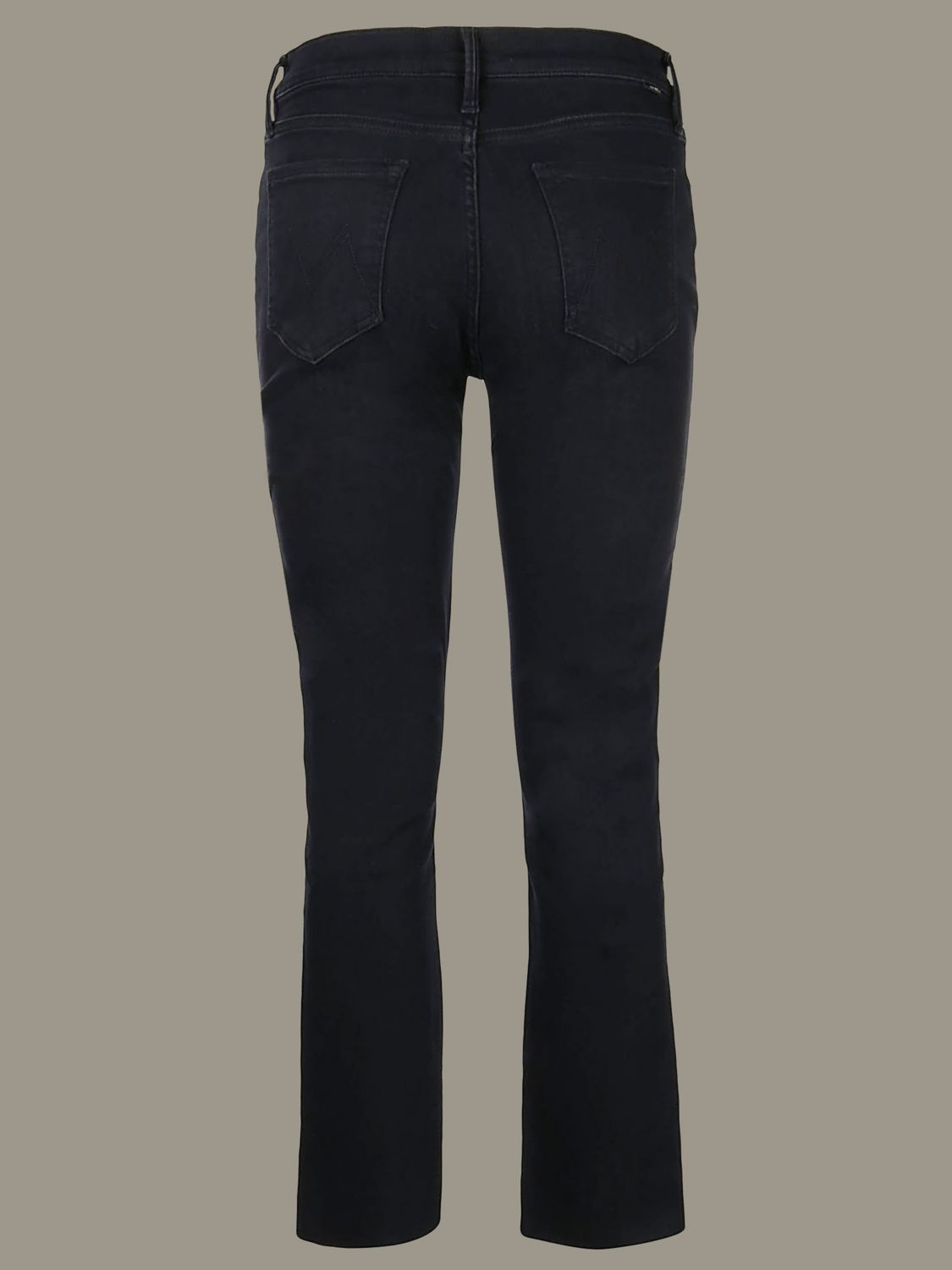 Jeans mujer Mother negro 2