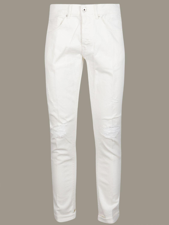 Jeans Dondup: Jeans men Dondup white 1