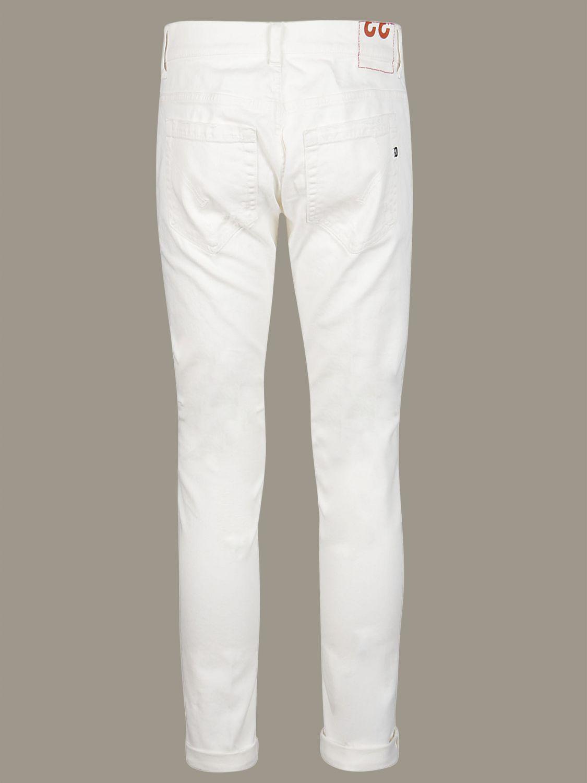 Jeans Dondup: Jeans men Dondup white 2