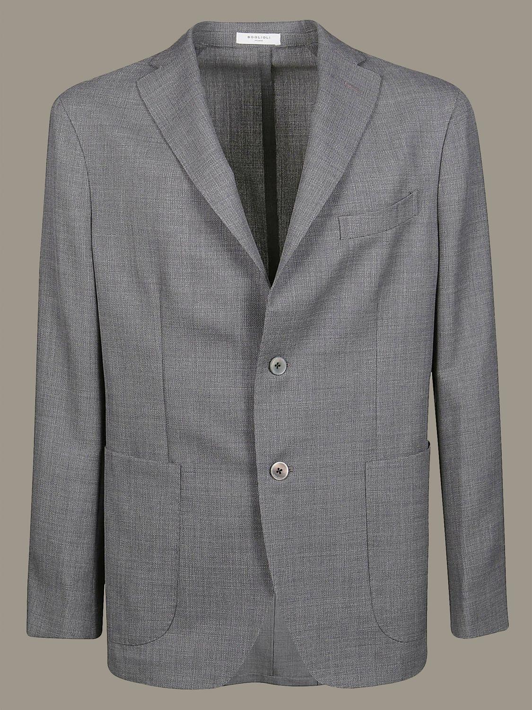 Blazer Boglioli: Jacket men Boglioli grey 1