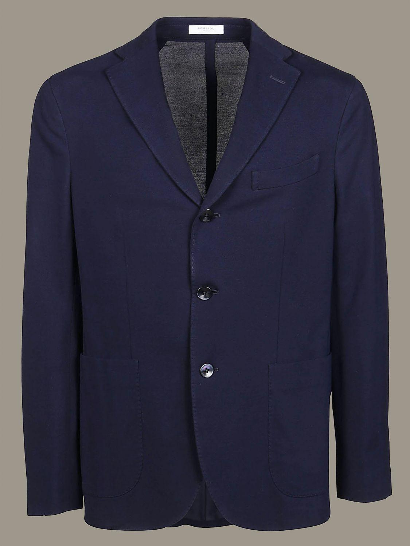 Blazer Boglioli: Jacket men Boglioli blue 1 1