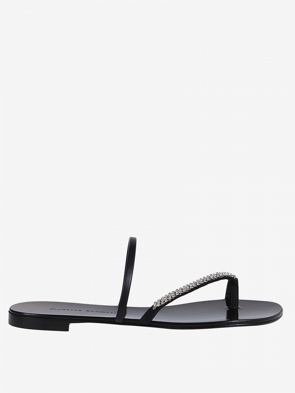 Flat Sandals Giuseppe Zanotti Design