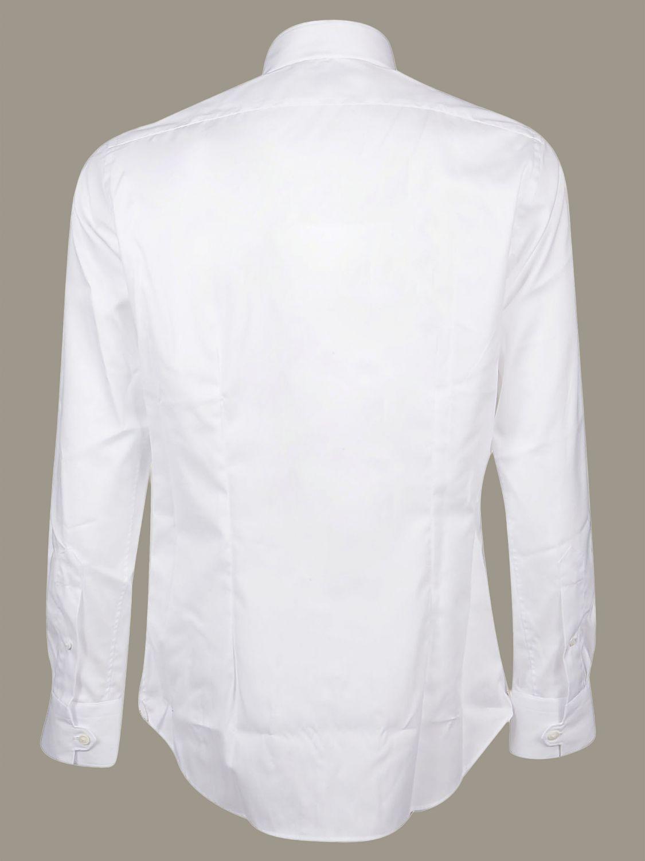 Camicia Bagutta con collo alto bianco 2