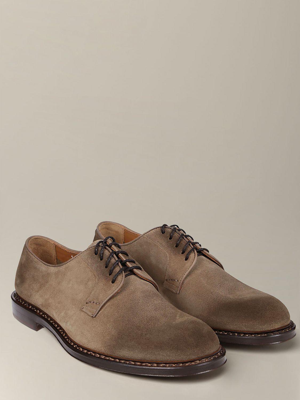 Brogue shoes Doucal's: Shoes men Doucal's sand 2
