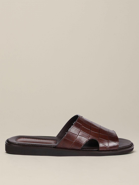 Sandalen Doucal's: Schuhe herren Doucal's dark 1