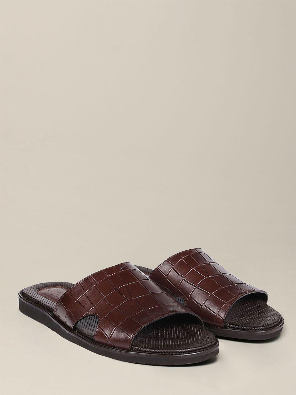 Sandalen Doucal's: Schuhe herren Doucal's dark 2