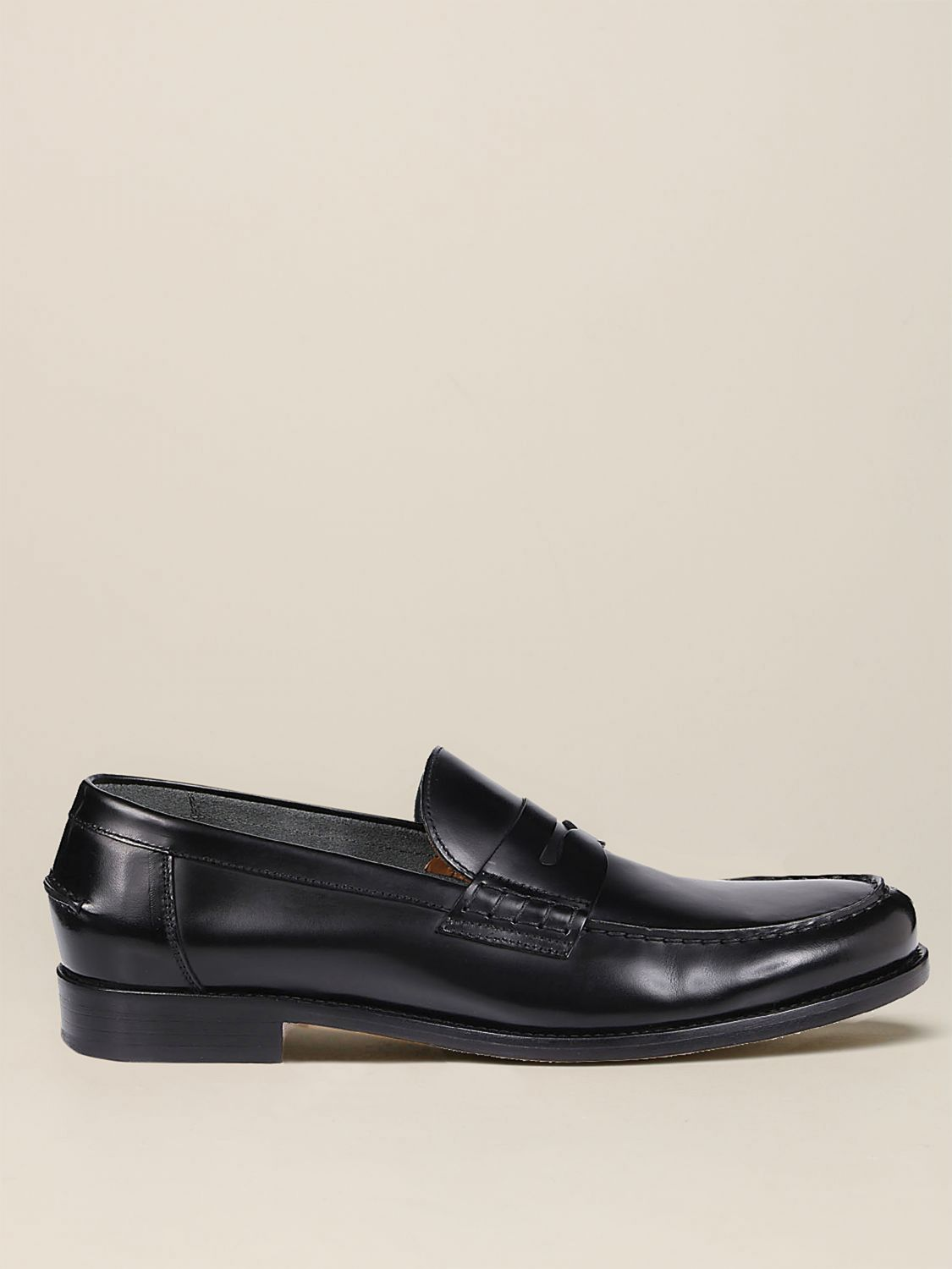 Loafers Doucal's: Shoes men Doucal's black 1