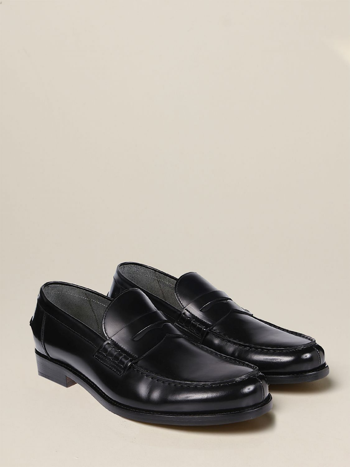 Loafers Doucal's: Shoes men Doucal's black 2
