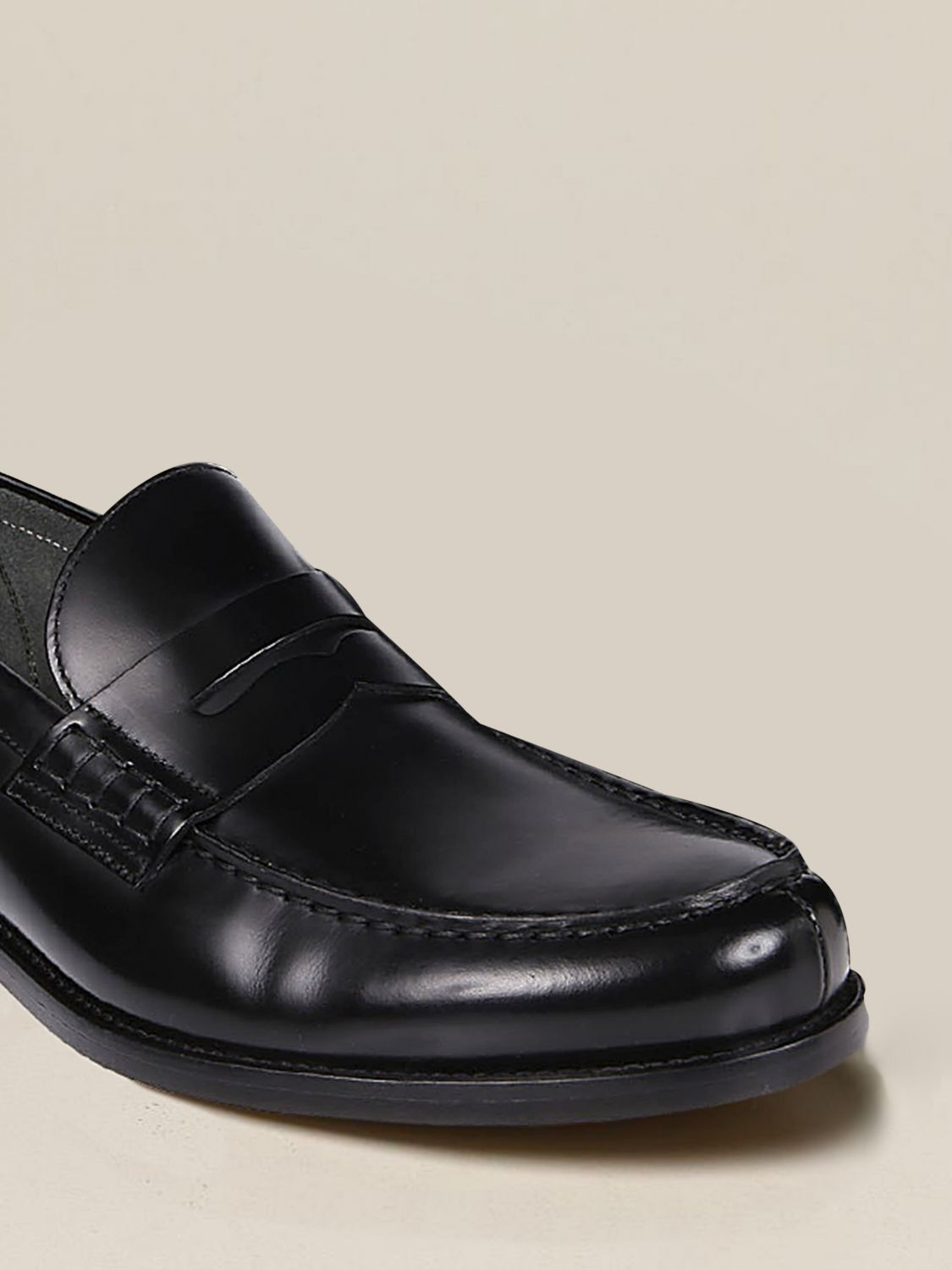 Loafers Doucal's: Shoes men Doucal's black 3