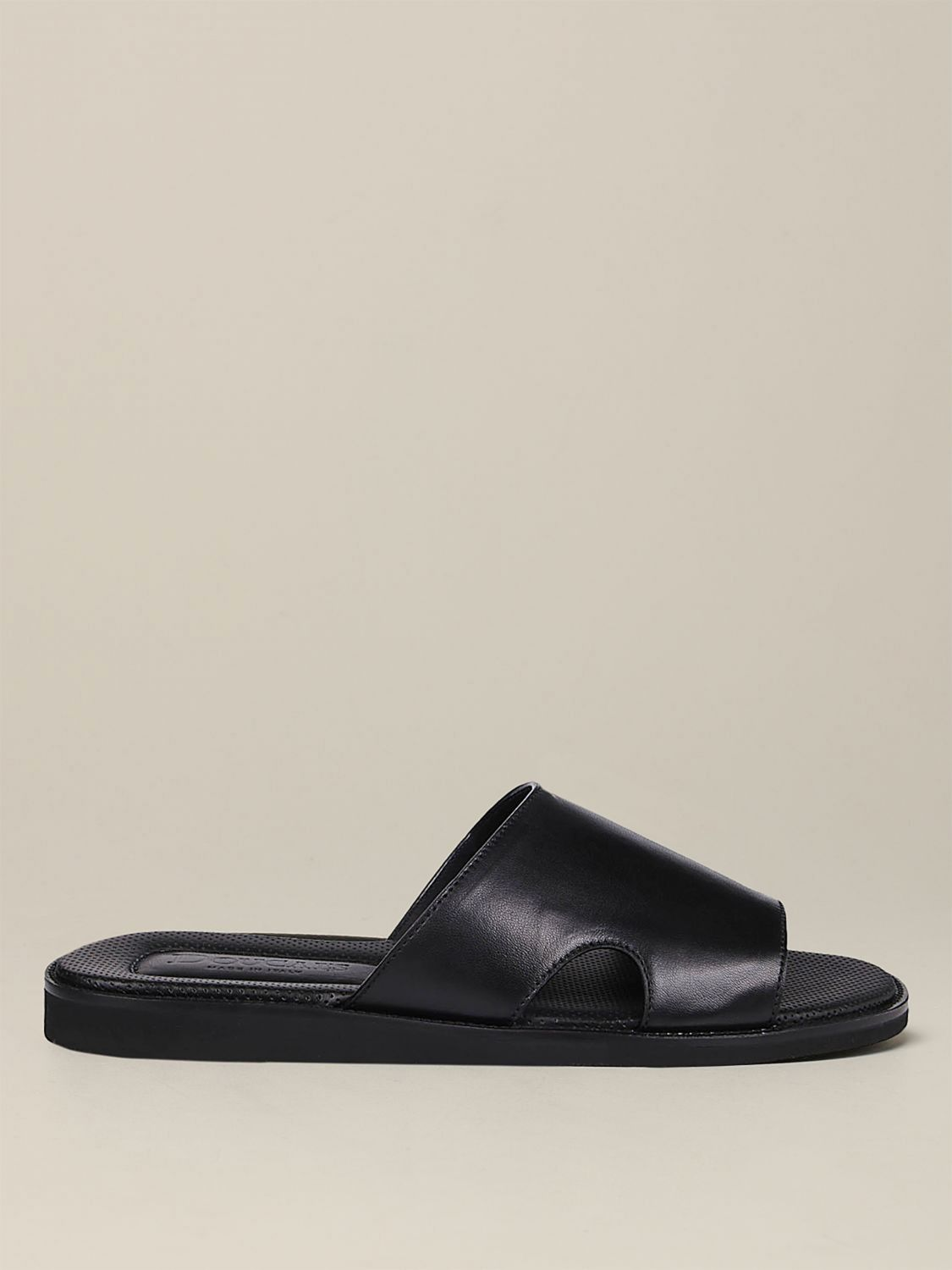 Sandals Doucal's: Shoes men Doucal's black 1
