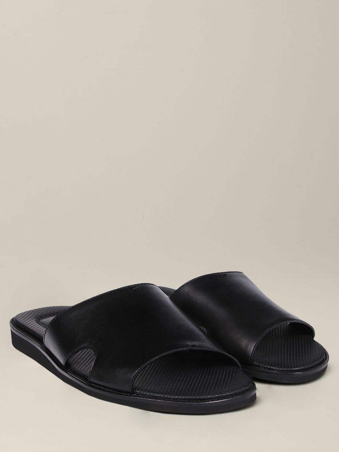 Sandals Doucal's: Shoes men Doucal's black 2
