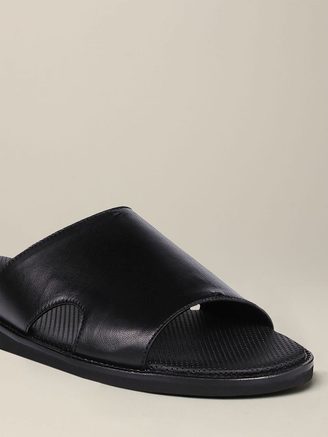 Sandals Doucal's: Shoes men Doucal's black 3