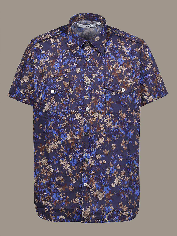 Pullover Department 5: Department 5 Hemd blau 1