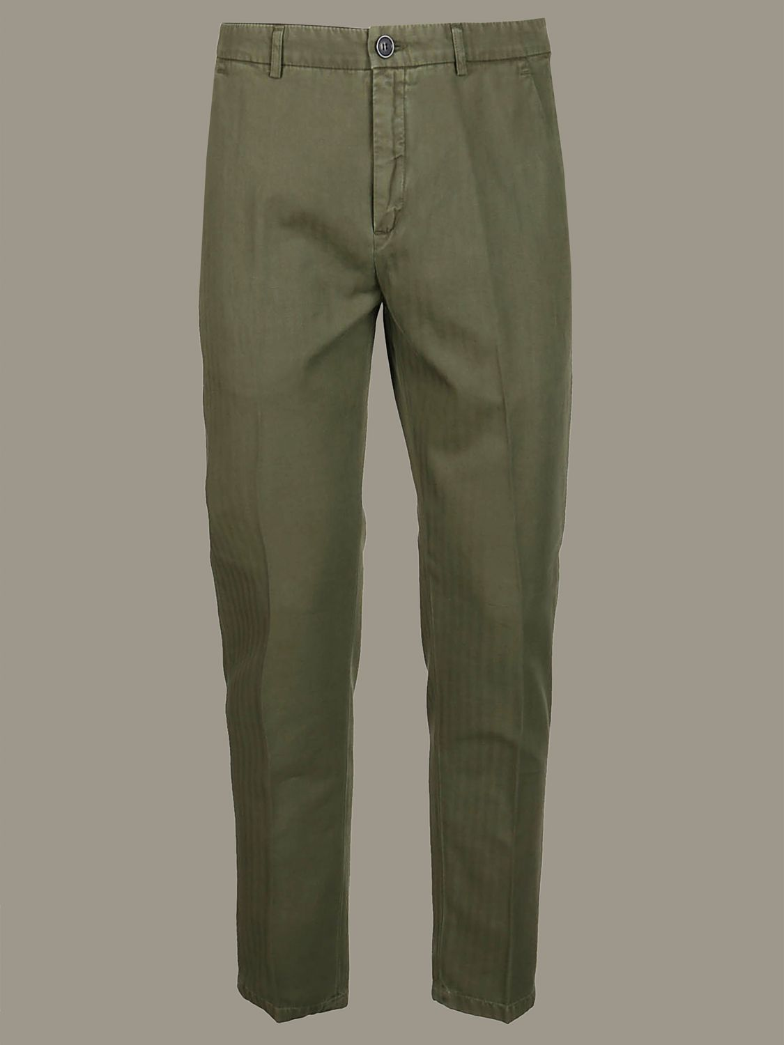 Hose Department 5: Department 5 Hose mit normaler Taille military 1