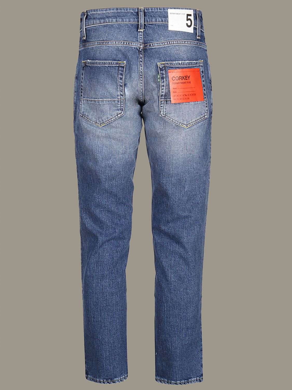 Hose Department 5: Department 5 Jeans mit 5 Taschen blau 2