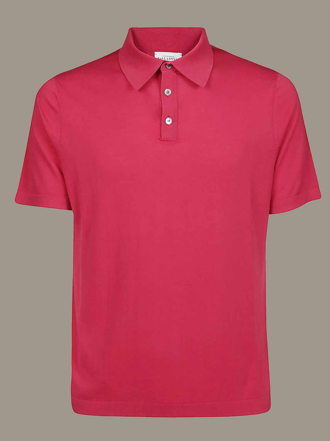 Polo shirt Ballantyne: Sweatshirt men Ballantyne red 1