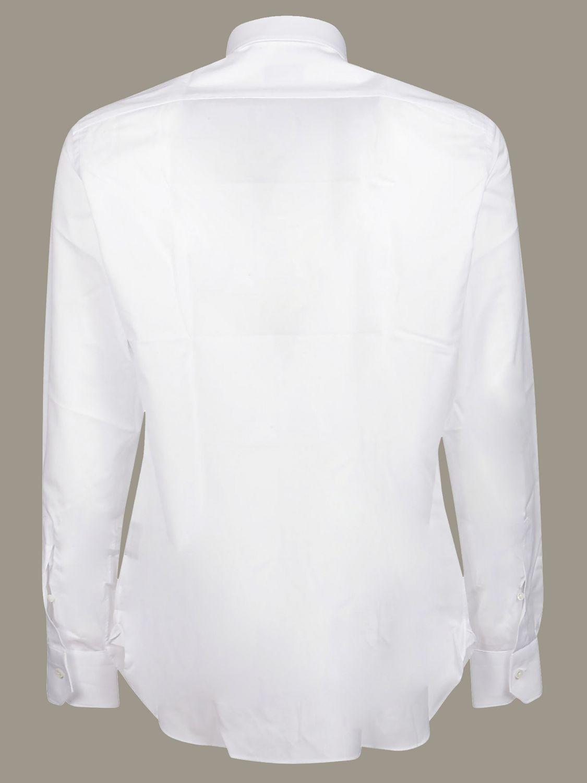 Camicia Ermenegildo Zegna con collo italiano bianco 2