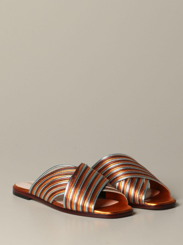 Обувь без каблука Женское Pollini черный 2