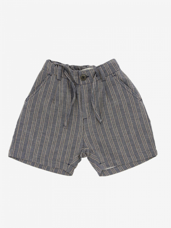 Shorts Paolo Pecora: Shorts kids Paolo Pecora blue 1