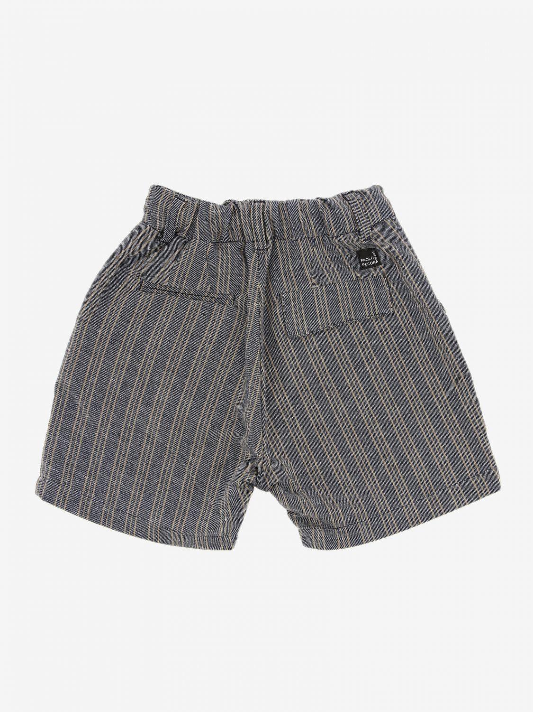 Shorts Paolo Pecora: Shorts kids Paolo Pecora blue 2