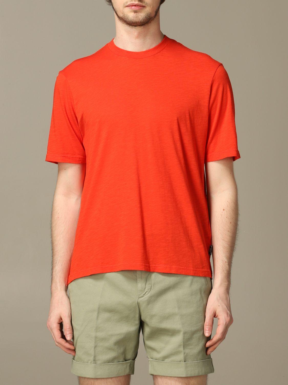 T-Shirt Ami Alexandre Mattiussi: T-shirt herren Ami Alexandre Mattiussi rot 1