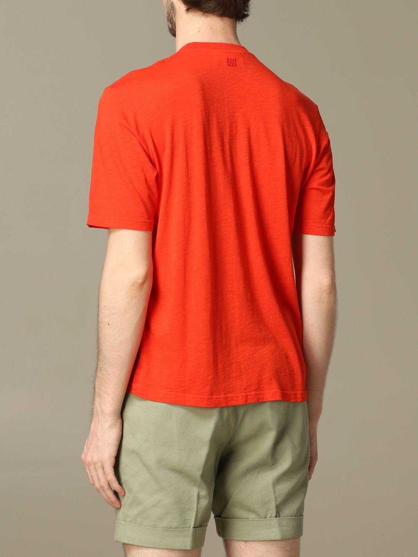 T-Shirt Ami Alexandre Mattiussi: T-shirt herren Ami Alexandre Mattiussi rot 2