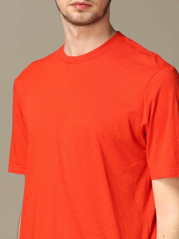 T-Shirt Ami Alexandre Mattiussi: T-shirt herren Ami Alexandre Mattiussi rot 3