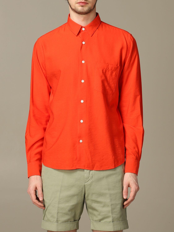 Рубашка Ami Alexandre Mattiussi: Рубашка Мужское Ami Alexandre Mattiussi красный 1