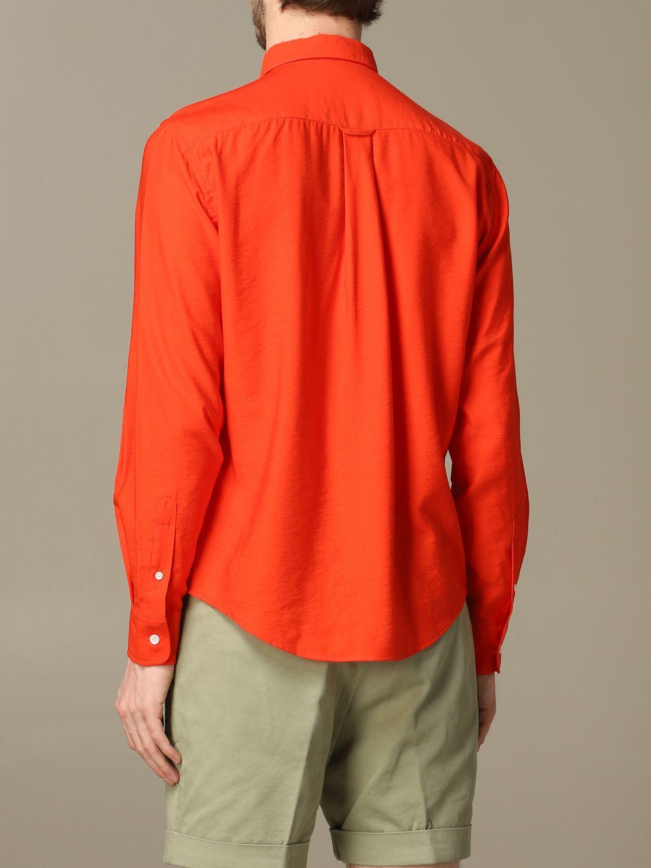 Рубашка Ami Alexandre Mattiussi: Рубашка Мужское Ami Alexandre Mattiussi красный 2