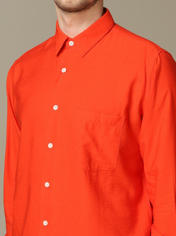 Рубашка Ami Alexandre Mattiussi: Рубашка Мужское Ami Alexandre Mattiussi красный 3