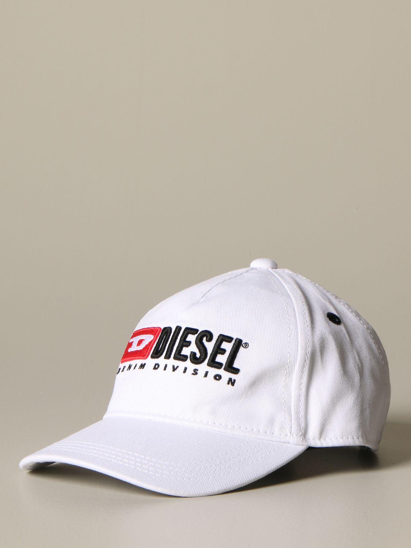 Cappello bambino Diesel: Cappello Diesel con logo bianco 1